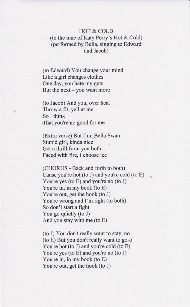 song-hot cold page 1