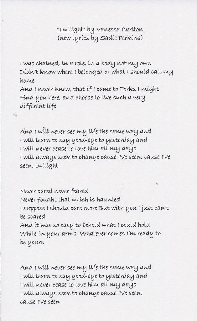 song-twilight pg 1